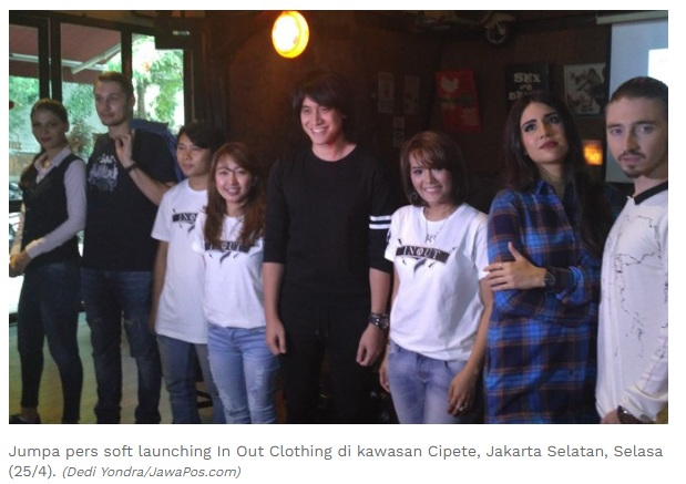 Soft Launching IN OUT CLOTHING Bersama Kevin Aprilio